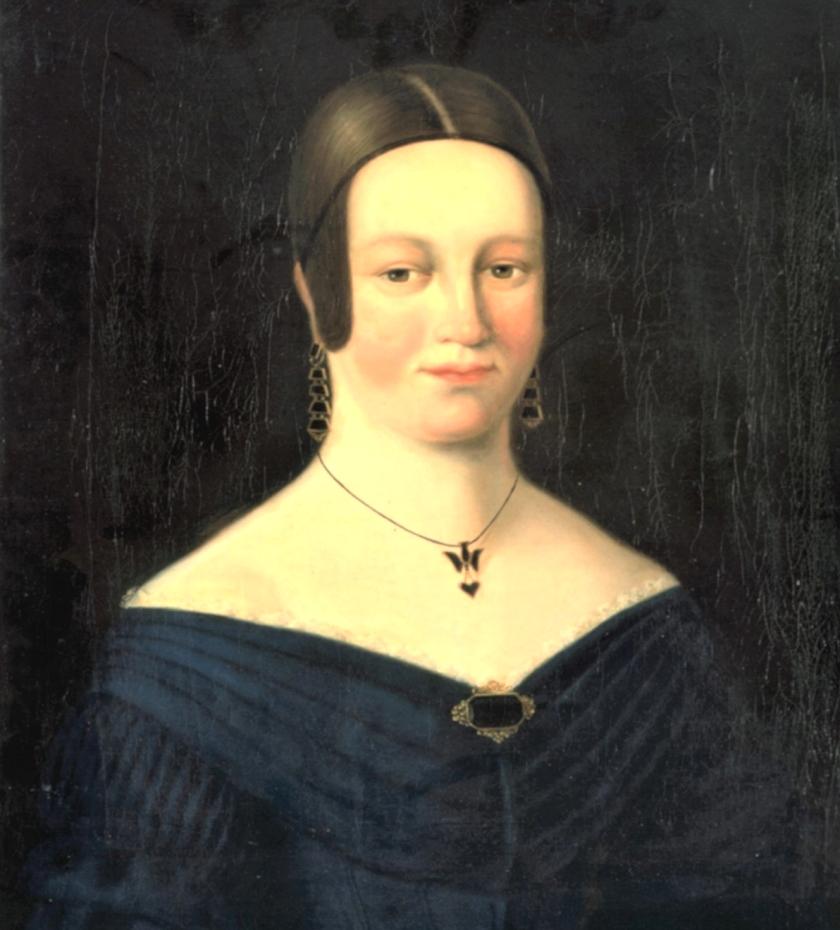 Portret van Elisabeth de Neufville